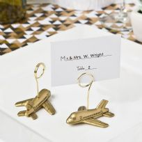 Airplane Design Place Card / Photo Holder